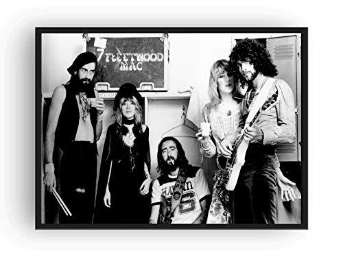 Fleetwood Mac Poster - Fleetwood Mac Poster 13x19 Quality Black And White Print Rumors
