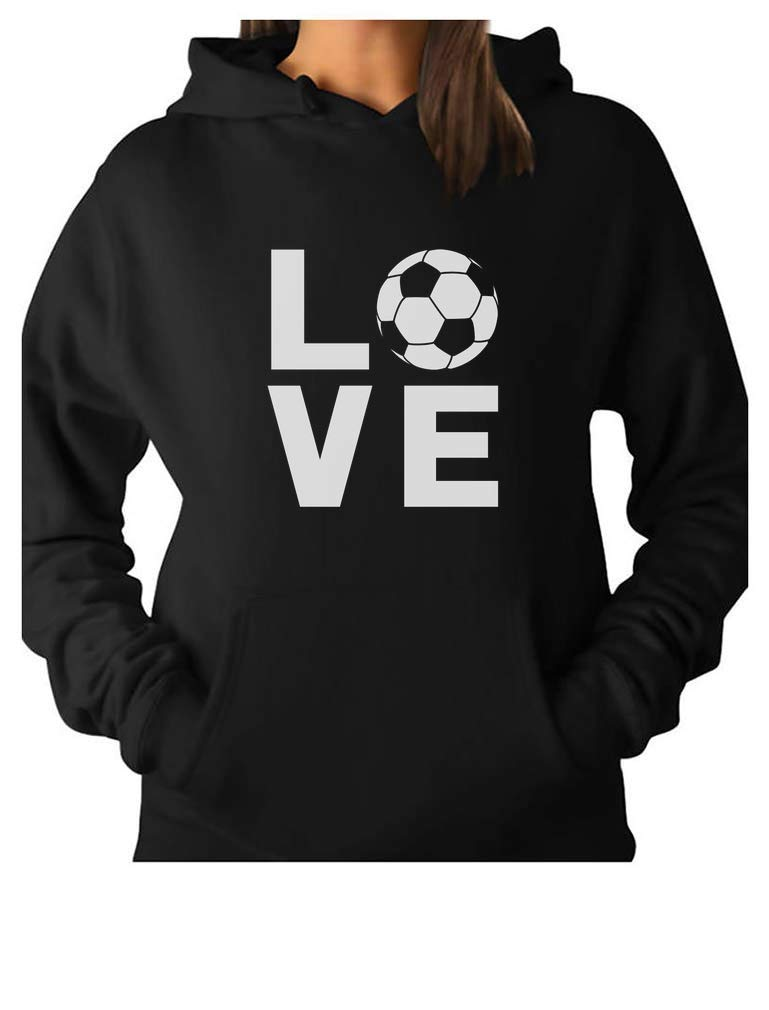 TeeStars - I Love Soccer for Soccer Players/Fans Women Hoodie