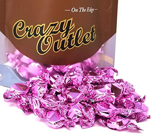 - CrazyOutlet Pack - Primrose Strawberry Buttons Hard Candy Pink Wrap, It's a Girl Party Candy, 2 lbs