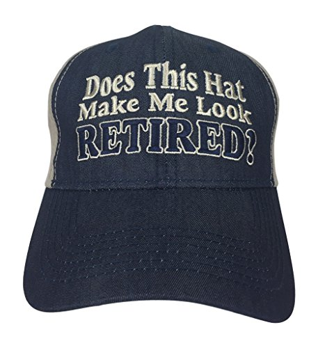 Artisan Owl Does This Hat Make Me Look Retired? - Hat for Retirees Dads Boss Co-Workers Party (Artisan Gift Shop)