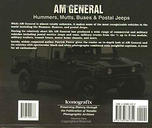 Am General: Hummers, Mutts, Buses & Postal Jeeps (Photo