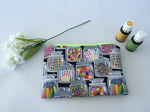 Travel Essential Oil Bag for 15 ml - 5 ml- roller bottles-tr