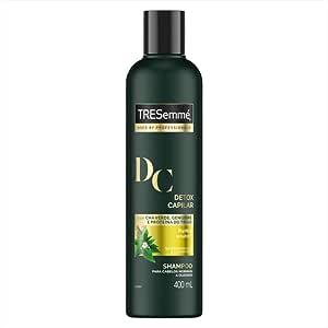 Shampoo Tresemme Detox Capilar 400 Ml, TRESemmé, Preto