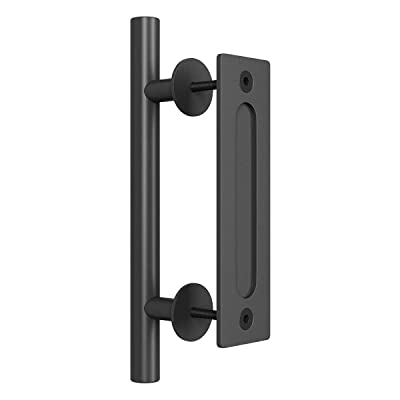SMARTSTANDARD 12 Inch Sliding Barn Door Handle