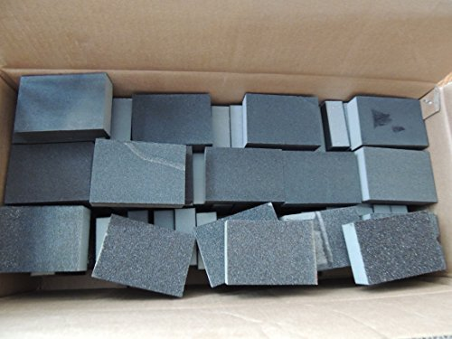 60 X MIXED GRITS SECONDS WET AND DRY FLEXIBLE FOAM SANDING BLOCKS ( 60 BLOCKS) FINE MEDIUM COARSE BULK BUY DOMS DIY DIRECT