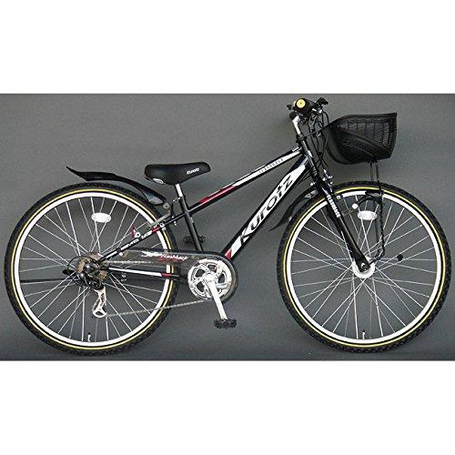 クロッツ Kurotz 子供用自転車 フラッシュバックSTD FBR246STD ジェットブラック   B00ADFRP50