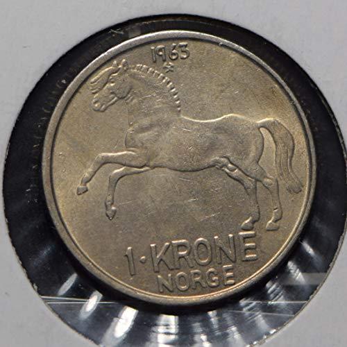1963 NO Norway 1963 Krone Horse animal 900817 DE PO-01