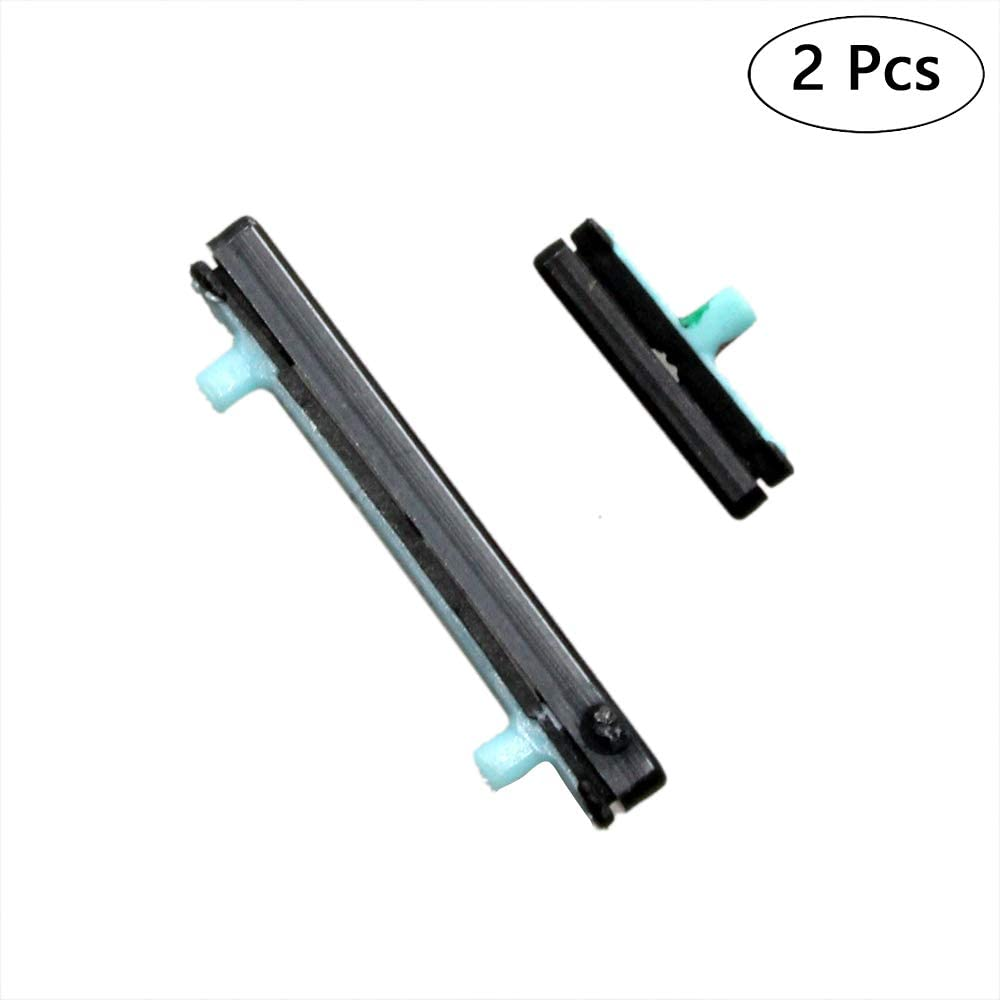 GinTai 2Pcs Home + Volume + Power On Off Button Repair Parts Replacement for Samsung Galaxy S8 S8 Plus