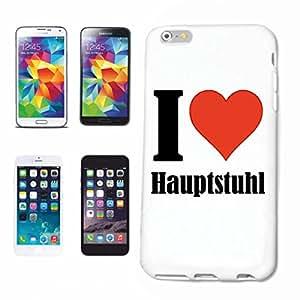 """cubierta del teléfono inteligente iPhone 5 / 5S """"I Love Hauptstuhl"""" Cubierta elegante de la cubierta del caso de Shell duro de protección para el teléfono celular Apple iPhone … en blanco ... delgado y hermoso, ese es nuestro hardcase. El caso se fija con un clic en su teléfono inteligente"""