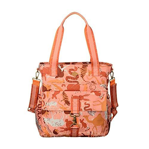 Zoo Sahara Baby Animal Ladies Shopper Pink Pattern Bag Flamingo Handbag Oilily wxqYpOAZw