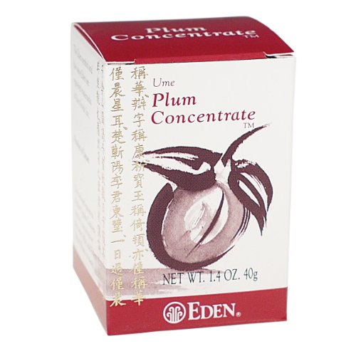 Eden Ume Plum Concentrate, Bainiku Ekisu, 1.4-Ounce Box