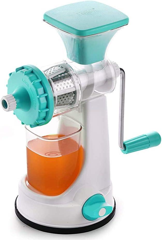 Dharma Ganesh Fruit & Vegetable Steel Handle Juicer, Blue