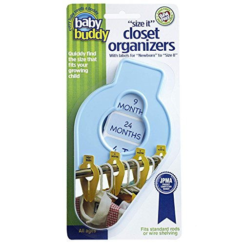 Baby Buddy Size-It Closet Organizers - Baby Clothes