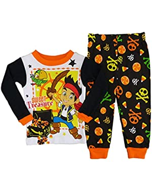 Jake and the Never Land Pirates Infant & Toddler Boys Halloween Pajama Set