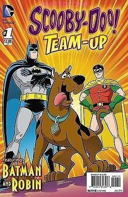 SCOOBY DOO TEAM UP #1 with BATMAN & ROBIN 2013 DC COMIC BOOK NEW MAN-BAT