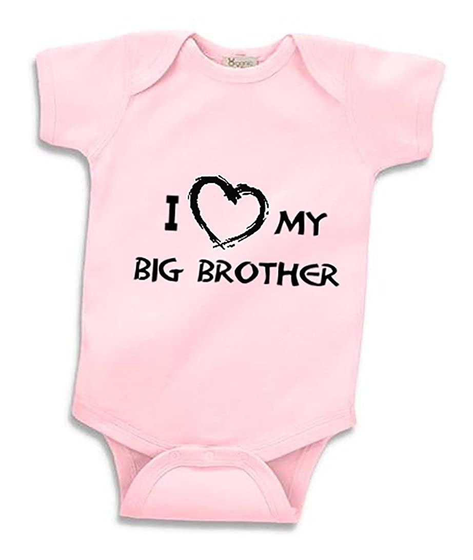 Amazon.com: I Love My Big Brother Infant Baby Onesie Clothing Great Gift White: Clothing