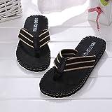 Men Flip Flops Slippers Flat Sandals Letter Comfort Beach Shower Thongs Fashion Casual Summer Outdoor Indoor Shoes