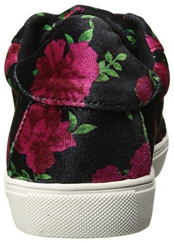 Blu Da Betsey Johnson Womens Bettie Sneaker Rosso / Nero