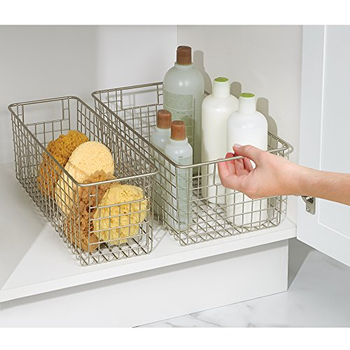 mDesign Wire Storage Basket for ...