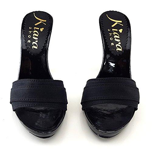 Talon Chaussure shoes 12 Noir KM7501 kiara tYAUaq7w