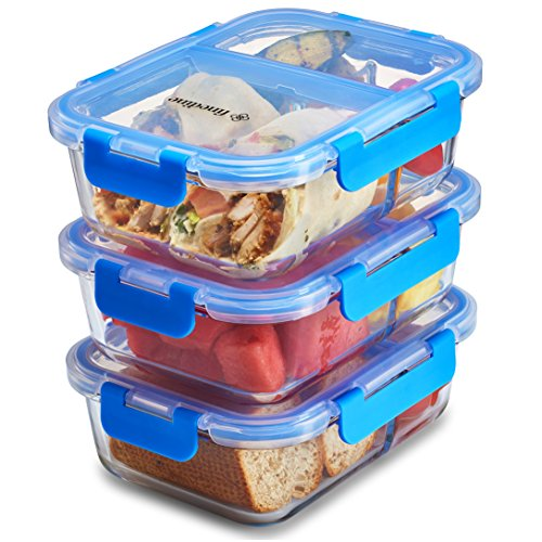 glass meal prep food storage