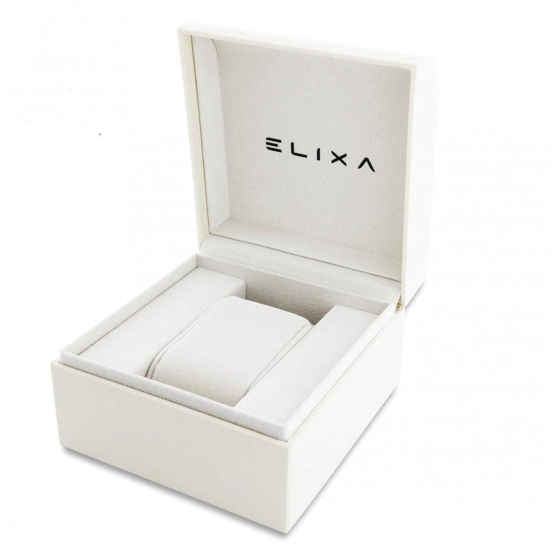 FÜr Frauen E087-L332 ELIXA MIT LEDER Uhr mit Garantie verkauft und 'GIFT BAG