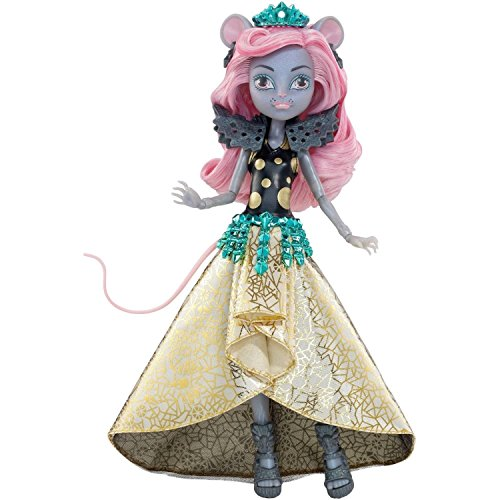 Rat Ears And Tail Costume (Monster High Boo York, Boo York Gala Ghoulfriends Mouscedes King Doll)