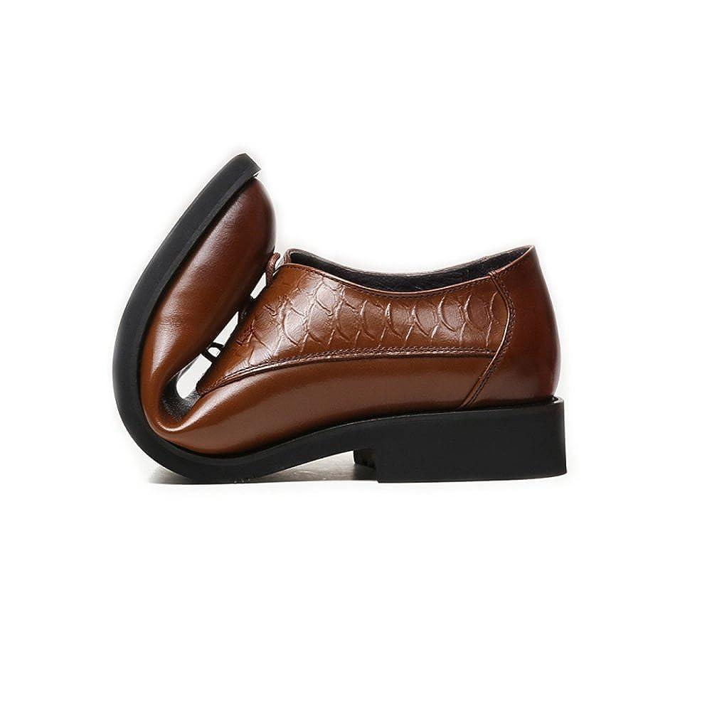 LYZGF Männer Gentleman Business Casual Fashion Verheiratet Schnürung Schnürung Schnürung Lederschuhe dcbc11