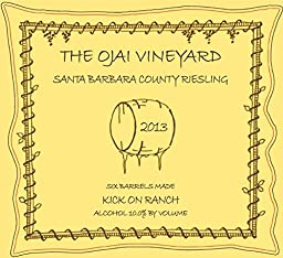 2013 The Ojai Vineyard Kick On Ranch Riesling Dessert Wine 375 mL