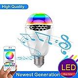 LK&smart Bluetooth Smart LED Bulb, Speaker Bulb, APP Controlled Dimmable Multicolored Lights