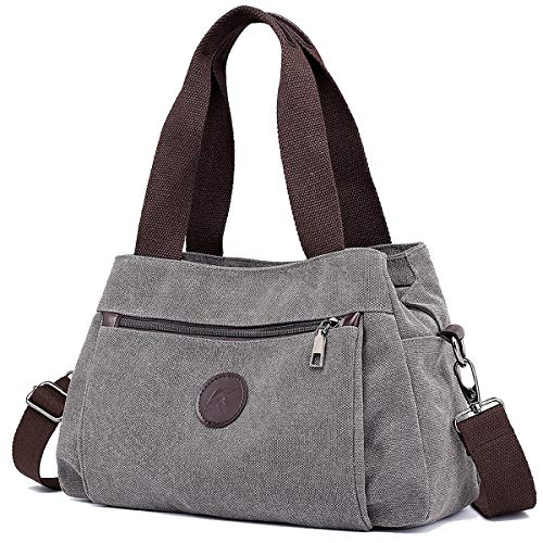 Canvas Hobo Handbags - 9