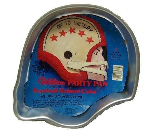 Wilton Party Pan Football Helmet Cake - Takes a 2-Layer Cake Mix (Football Helmet Cake Pan compare prices)