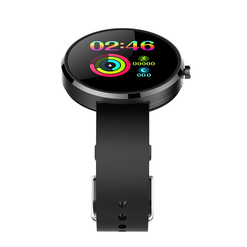 YNAA for Android iOS, Sport Smart Watch, Fitness Calorie Heart Rate Monitoring Physiological Cycle Reminder Smart Bracelet (C) by YNAA (Image #2)