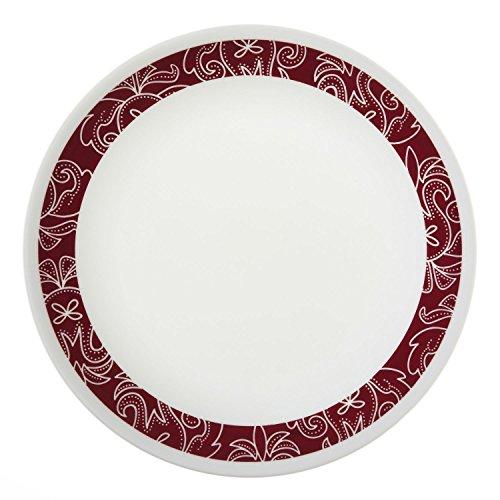 livingware bandhani luncheon plate