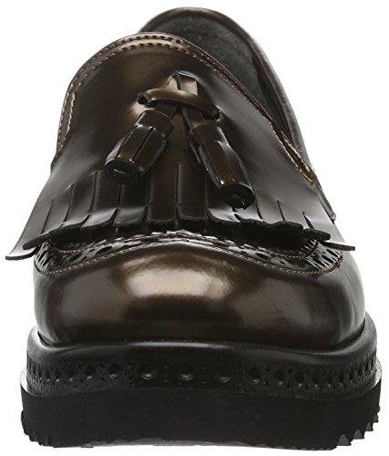bronze Andrea Conti Para Negro 1592706 Mujer 002 Mocasines zfOYxz