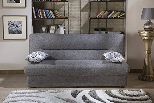 Regata Diego Gray Convertible Sofa Bed by Sunset