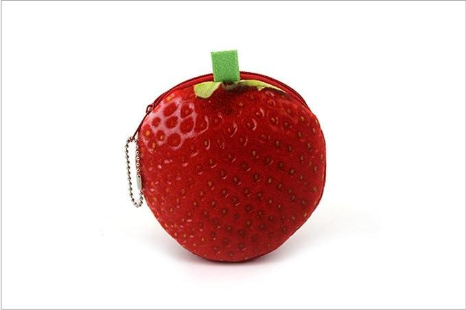 Fruit - Monedero de Lana 3D para Manzanas, diseño de Fresas ...