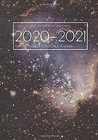 A5 Planner - 2020-2021 Planner Calendar - Stars