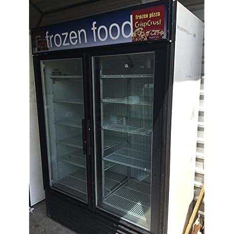 True GDM 49F LD Glass Door Merchandiser Freezer 49 Cu Ft