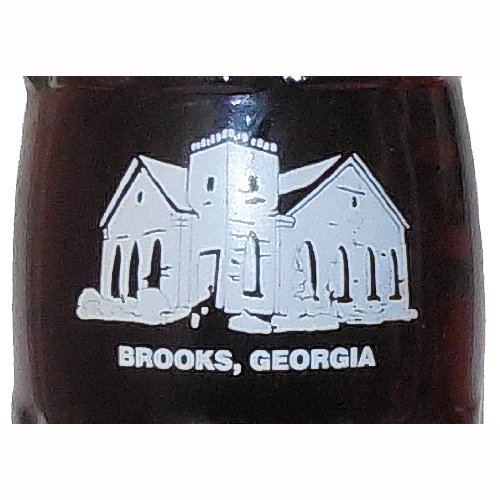 Brooks Georgia 1999 Town Hall Celebration Coca-Cola Bottle from Coca-Cola