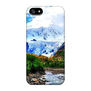 Shock-dirt Proof Beautiful Mountain Valley Case Cover For Iphone 5/5s