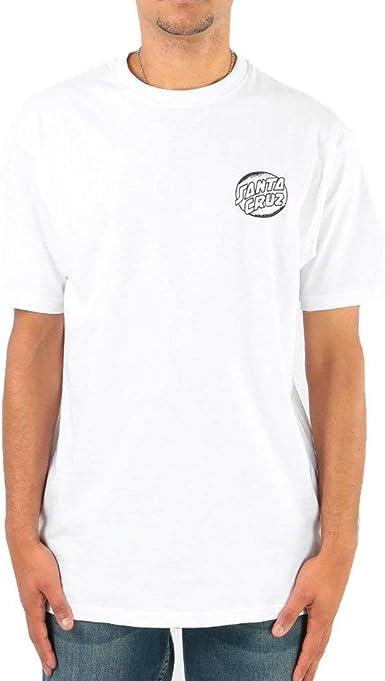 Santa Cruz Camiseta Bone Wave Blanco L (Large): Amazon.es: Ropa