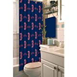 The Northwest Company MLB Boston Red Sox 72x72 Shower Curtain