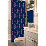 The Northwest Company MLB Boston Red Sox 72''x72'' Shower Curtain
