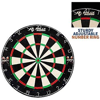 Amazon com : BETTERLINE Magnetic Dartboard Set - 16 Inch Dart Board