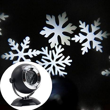 Copo de nieve de proyector de luz, yocuby Angel Eyes Interior ...