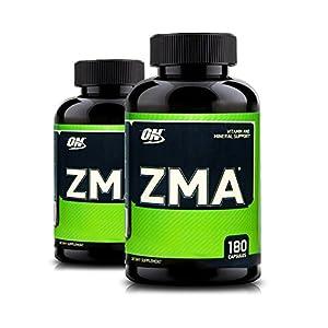 Optimum Nutrition ZMA, 180 Capsules (2 Pack)