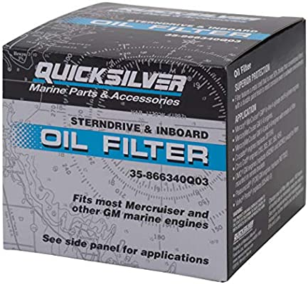 Mercury Marine//Mercruiser New OEM FILTER-OIL  35-866340Q03