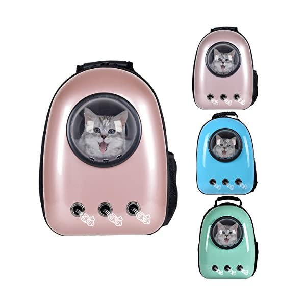 1b8a10befd28 Giantex Astronaut Pet Cat Dog Puppy Carrier Travel Bag Space Capsule  Backpack Breathable