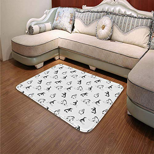 YOLIYANA Modern Carpet,Kids,for Living Room Bathroom,55.12